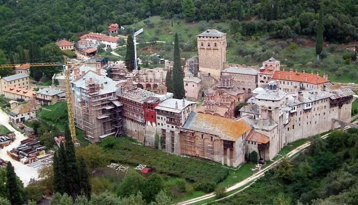 Κορονοϊός: Ύποπτο κρούσμα Ιερά Μονή Χιλανδαρίου του Αγίου Όρους