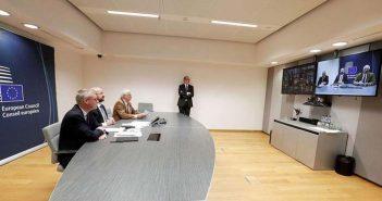 Αυτά συμφώνησαν στην τηλεδιάσκεψη οι «27» ηγέτες της Ε.Ε. για τον κορονοϊό
