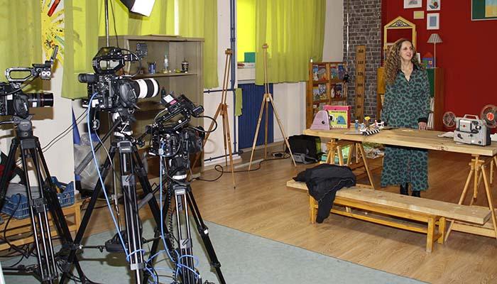 Εκπαιδευτική τηλεόραση: Συνεχίζονται τα γυρίσματα των βιντεομαθημάτων