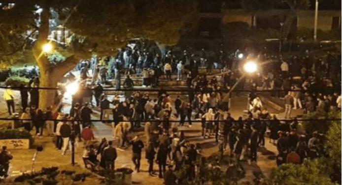Ανησυχία και προβληματισμός μετά το υπαίθριο πάρτι 300 ατόμων στην Αγία Παρασκευή - Σύγκρούσεις με την αστυνομία