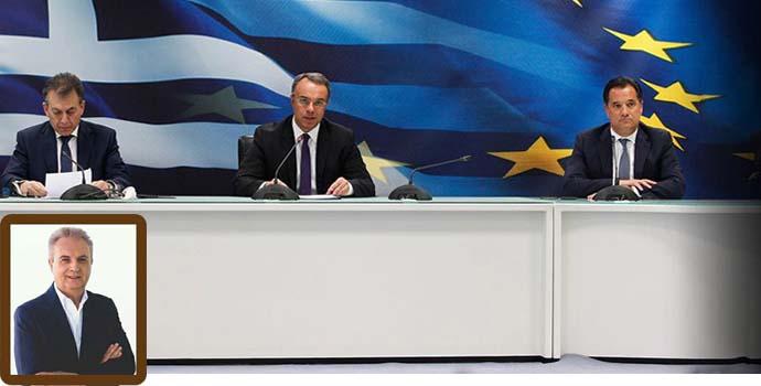 Γιάννης Μαγκριώτης*: Το «ανάχωμα στην ύφεση» που εξήγγειλε η κυβέρνηση, δυστυχώς, δεν θα αντέξει.