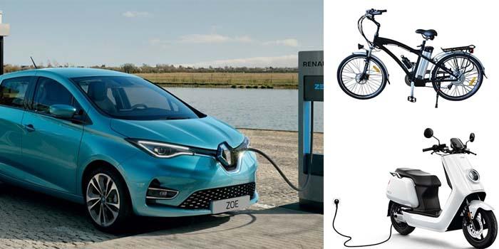 Οι επιδοτήσεις που θα ανακοινώσει η κυβέρνηση για τα ηλεκτρικά αυτοκίνητα, σκούτερ και ποδήλατα