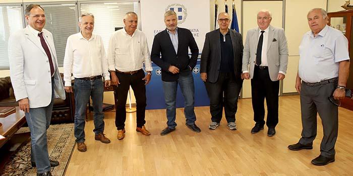 Συνάντηση της Ένωσης Δημάρχων Αττικής με τον Περιφερειάρχη Γ. Πατούλη