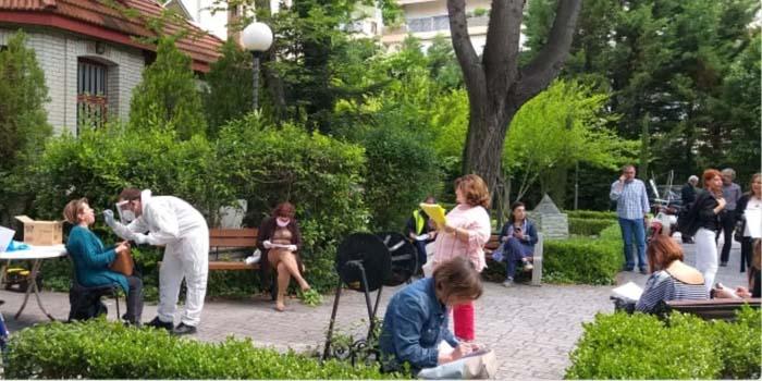 Δήμος Βριλησσίων: Κλιμάκιο του Εθνικού Οργανισμού Δημόσιας Υγείας στο Δημαρχείο