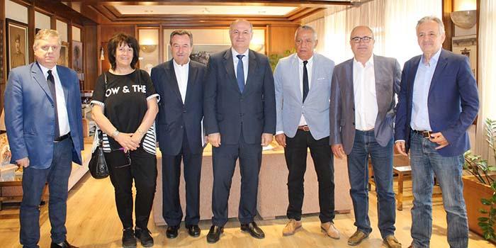 Επίσκεψη της Ένωσης Δήμαρχων Αττικής στον Υπουργό Δικαιοσύνης