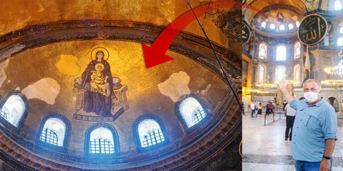 Hurriyet: Οι αγιογραφίες της Αγίας Σοφίας θα καλυφθούν με ειδική τεχνολογία και φωτισμό - Θα βγάζουν τα παπούτσια τους οι επισκέπτες