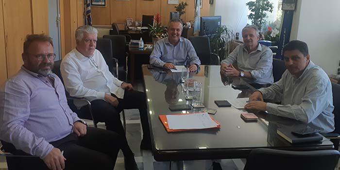 Oι δήμαρχοι Αγ. Παρασκευής και Παπάγου – Χολαργού είχαν εφ' όλης της ύλης συνάντηση, παρουσία του Αντιπεριφερειάρχη Βασίλη Γιαννακόπουλου