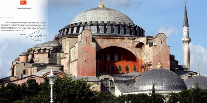 Η Αγιά Σοφιά δεν είναι πια μουσείο – Ο Ερντογάν την μετέτρεψε άμεσα σε τζαμί