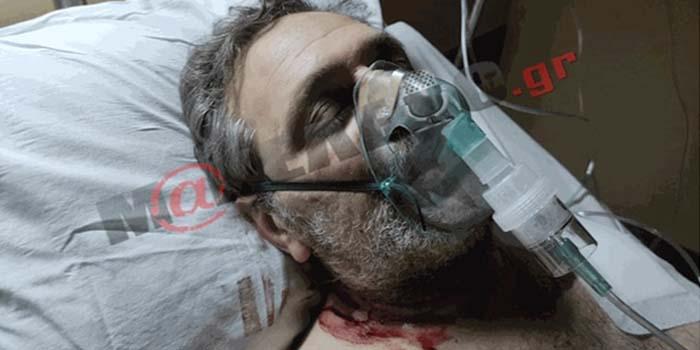 Στέφανος Χίος: Στο νοσοκομείο μετά τη δολοφονική επίθεση – Μπλόκαρε το όπλο και δεν τον σκότωσαν