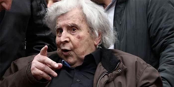 Ο Μίκης Θεοδωράκης κατακεραυνώνει τον Ερντογάν και δηλώνει «στρατευμένος» στα δίκαια του Έθνους