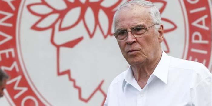 Ολυμπιακός: «Έφυγε» από τη ζωή ο επίτιμος πρόεδρός του Σάββας Θεοδωρίδης