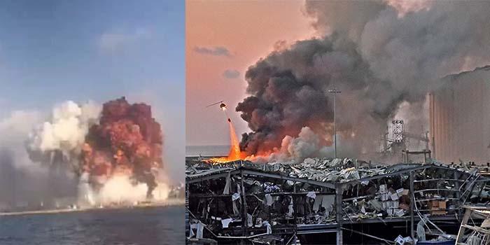 Βηρυτός: 100 νεκροί και χιλιάδες τραυματίες από έκρηξη που ισοπέδωσε το λιμάνι [Βίντεο]