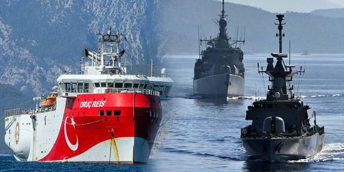 Το «Oruc Reis» απέπλευσε συνοδευόμενο από πολεμικά πλοία – Η αντίδραση της Γερμανίας και του ελληνικού ΥΠΕΞ