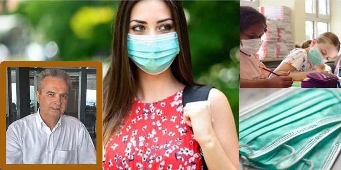 Γιάννης Μαγκριώτης: Η υγειονομική μάσκα, τα πολιτικά παιχνίδια, οι συνωμοσιολόγοι, και οι κίνδυνοι