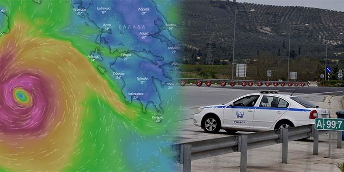 ΕΛ.ΑΣ.: Έκτακτες κυκλοφοριακές ρυθμίσεις σε Αχαΐα, Ηλεία και Αιτωλοακαρνανία