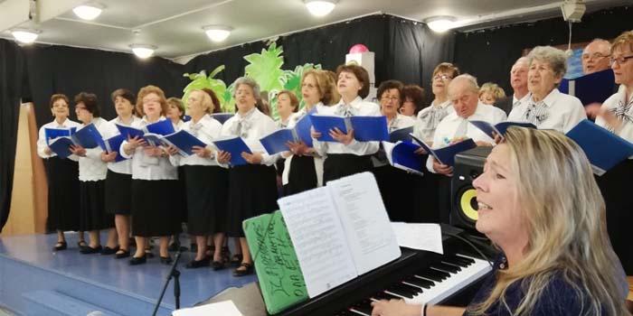 Η Χορωδία 60+ του Δήμου Χαλανδρίου συμπλήρωσε έξι χρόνια δημιουργίας και προσφοράς