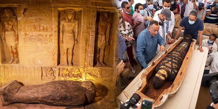 Αίγυπτος: Ανακαλύφθηκαν 59 καλοδιατηρημένες σαρκοφάγοι