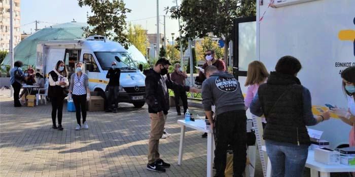 Κορονοϊός: Πού εντοπίζεται η μεγαλύτερη συγκέντρωση κρουσμάτων κορονοϊού τις τελευταίες ημέρες, στην Αθήνα