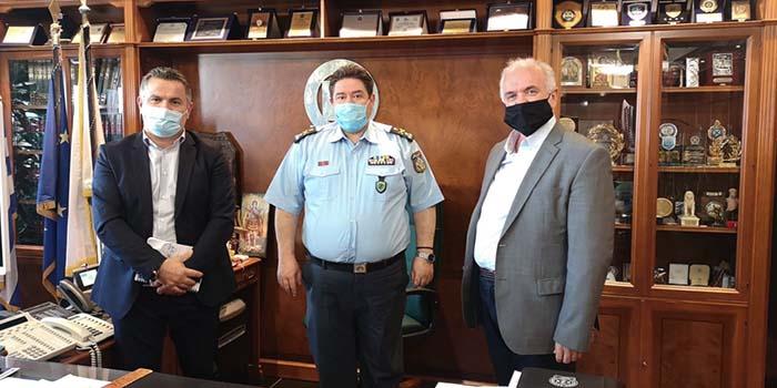 Ι.Π. Μεσολογγίου: Συνάντηση Αρχηγού ΕΛ.ΑΣ. και Δήμαρχου Κώστας Λύρος – Ο Δήμος Μεσολογγίου χρειάζεται καλύτερη αστυνόμευση
