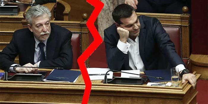 Ο ΣΥΡΙΖΑ διέγραψε τον Κοντονή - «Έθεσε εαυτόν εκτός κόμματος»