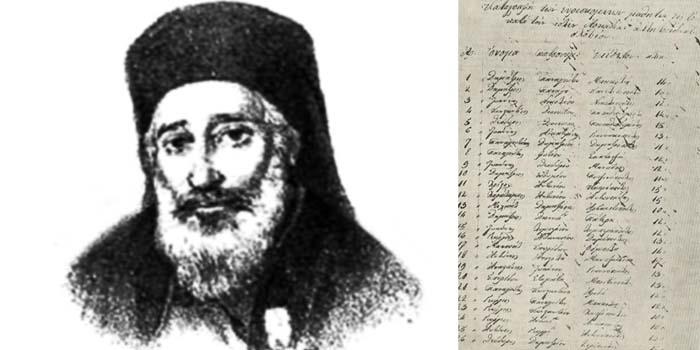 Καλημέρα με πρόσωπα και γεγονότα της Μεσσηνίας - Σαν σήμερα……11 Νοεμβρίου 1829 ο Αμβρόσιος Φρατζής ζητά από τον Καποδίστρια να στηρίξει το σχολείο της Κυπαρισσίας