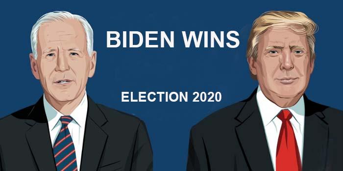 Ο Μπάιντεν κερδίζει την προεδρία των ΗΠΑ και γίνεεται ο 46ος πρόεδρος