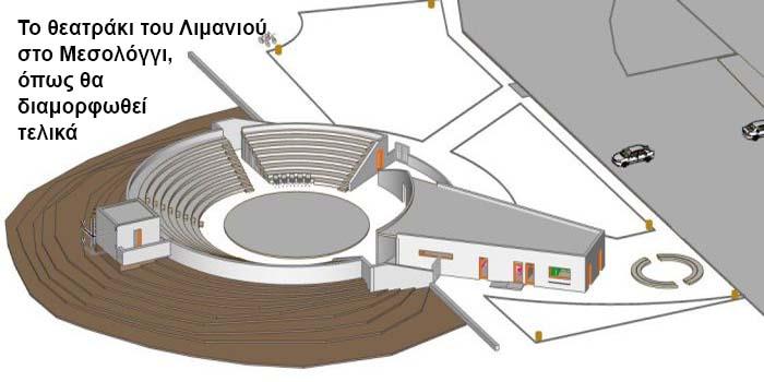Ι.Π. Μεσολογγίου: Εντάχθηκε στο Leader Το θεατράκι του λιμανιού γίνεται… θέατρο αξιώσεων – Γενικότερη παρέμβαση στον περιβάλλοντα χώρο (Δασάκι)
