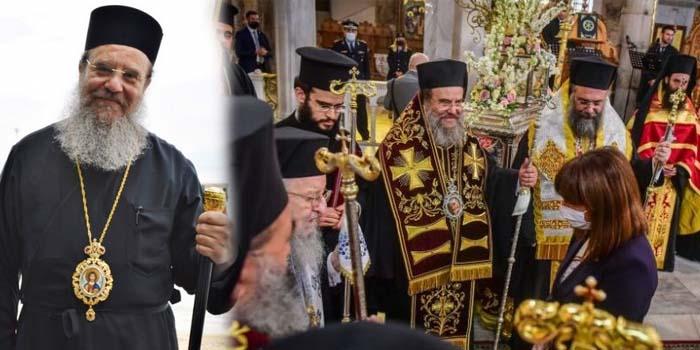 Κορονοϊός: Θετικός ο Μητροπολίτης Ιερισσού Θεόκλητος που συμμετείχε στη δοξολογία στον Άγιο Δημήτριο