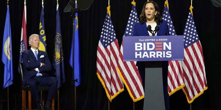 Καμάλα Χάρις: Μπορεί να είμαι η πρώτη γυναίκα αντιπρόεδρος των ΗΠΑ, αλλά δεν θα είμαι και η τελευταία