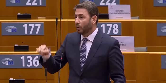 Νίκος Ανδρουλάκης*: Ο Ερντογάν περιφρονεί το διεθνές δίκαιο και εσείς στρουθοκαμηλίζετε