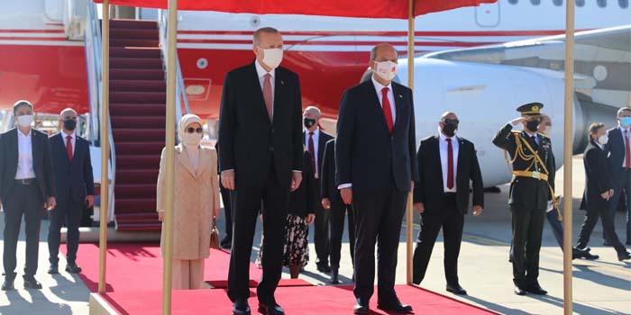 Στα κατεχόμενα της Κύπρου ο Ερντογάν