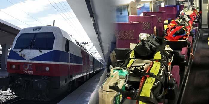 Κορονοϊός: Σε οριακή κατάσταση τα νοσοκομεία σε Θεσσαλονίκη και Λάρισα - Διακομιδές με τρένα σε Αθήνα