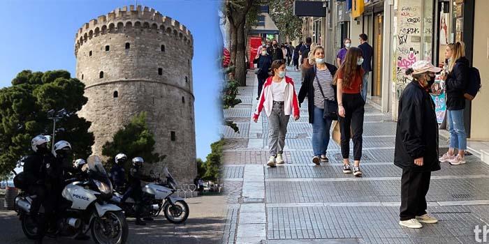 Γενικό lockdown για 14 ημέρες σε Θεσσαλονίκη και Σέρρες – Επιστρέφει το SMS εξόδου