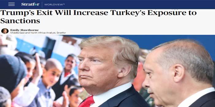 Stratfor: Ποια είναι η σημασία της νίκη Μπάιντεν για την Τουρκία και τον Ερντογάν