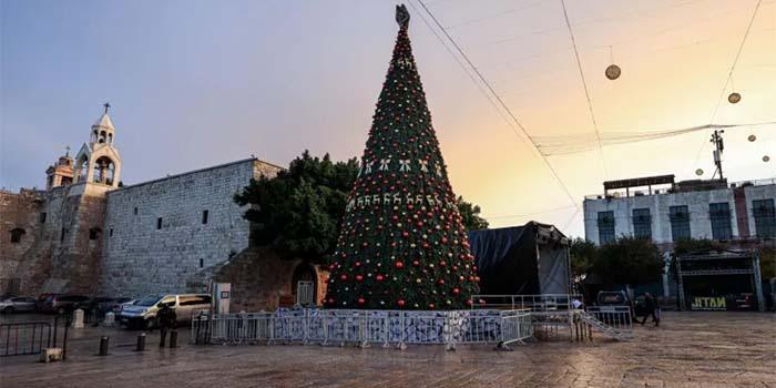 Παλαιστίνη: Χωρίς πιστούς η χριστουγεννιάτικη λειτουργία τα μεσάνυχτα στη Βηθλεέμ