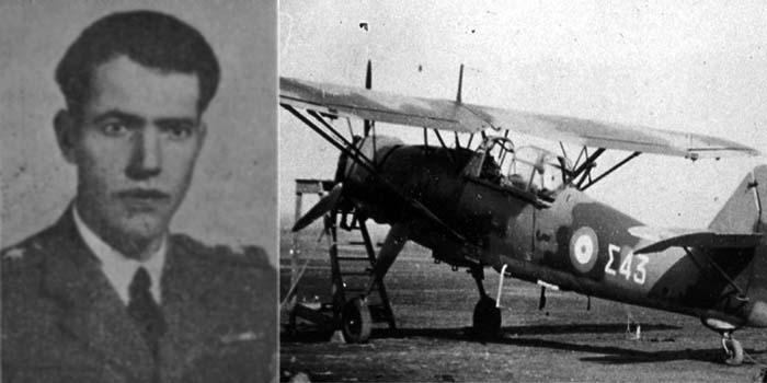 Καλημέρα με πρόσωπα και γεγονότα της Μεσσηνίας - Σαν σήμερα……6 Ιανουαρίου 1941. Σκοτώθηκε ο Επισμηναγός Δημήτριος Παληατσέας