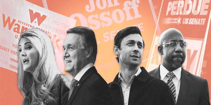 Εκλογές στην Τζόρτζια: Οι Δημοκρατικοί φαίνεται να εξασφαλίζουν και τις δύο έδρες στη Γερουσία