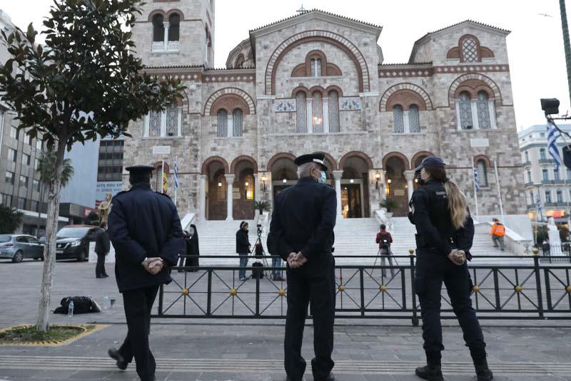 Εντός των Ναών ο Μέγας Αγιασμός των υδάτων σε όλη την Ελλάδα