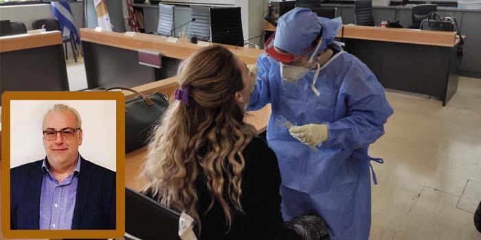 Νίκος Μπαρμπούνης*: Ανύπαρκτα τα rapid tests στο Δήμο Ηρακλείου Αττικής με ευθύνη του Δημάρχου