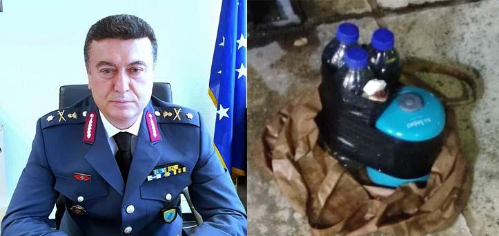 Ανεπιτυχής εμπρηστική επίθεση στο σπίτι του προέδρου της ομοσπονδίας αξιωματικών της ΕΛ.ΑΣ.