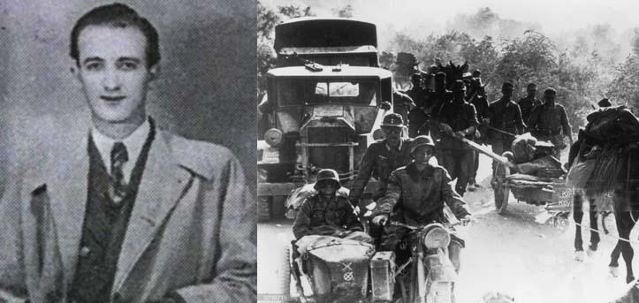 Καλημέρα με πρόσωπα και γεγονότα της Μεσσηνίας - Σαν σήμερα……22 Φεβρουαρίου 1944. Σκοτώθηκε ο δημοσιογράφος Πότης Γλυμάνος