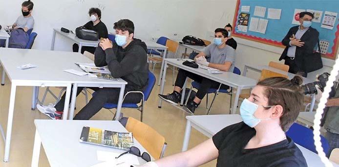 Σχολεία: Η λειτουργία τους από αύριο, μετά τα νέα μέτρα