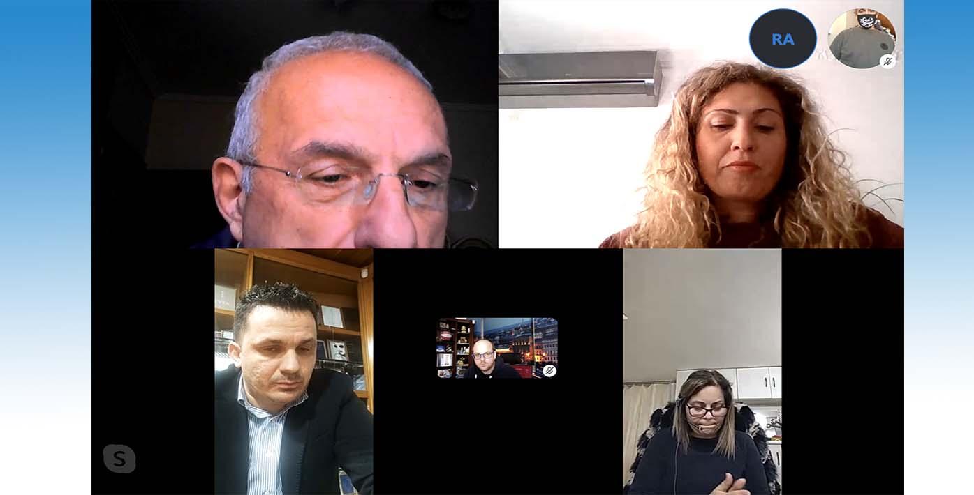 Διαδικτυακή Συνάντηση της παράταξης «Χαλάνδρι σε Δράση»  με τον Εμπορικό Σύλλογο Χαλανδρίου