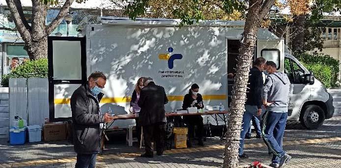 Δήμος Βριλησσίων: Λόγω της κακοκαιρίας η διενέργεια covid test θα πραγματοποιηθεί τη Δευτέρα 22/02/2021