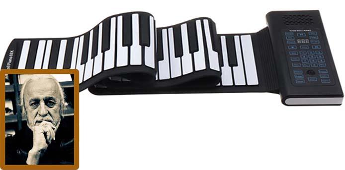 Νότης Μαυρουδής: Από το τυλιχτό σουβλάκι, στο τυλιχτό… πιάνο
