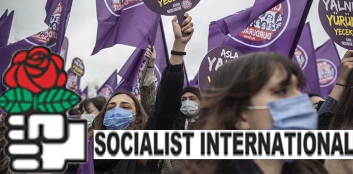 Σοσιαλιστική Διεθνής: Η Τουρκία να πάρει πίσω την απόφαση για αποχώρηση από την Σύμβαση της Κωνσταντινούπολης