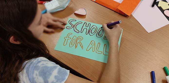 Διαδικτυακή συζήτηση: Οι πρόσφυγες μαθητές στο σχολείο και στην τοπική κοινωνία - Πόσο έτοιμοι είμαστε; Ποιες δυνατότητες μένουν ακόμα αναξιοποίητες;
