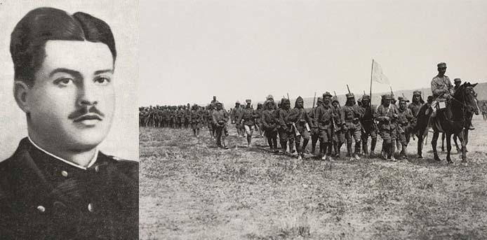 Καλημέρα με πρόσωπα και γεγονότα της Μεσσηνίας - Σαν σήμερα……15 Μαρτίου 1921. Φονεύεται στο οχυρό Ντουζ-Νταγ ο Υπολοχαγός Παναγιώτης Καλαμπόκης