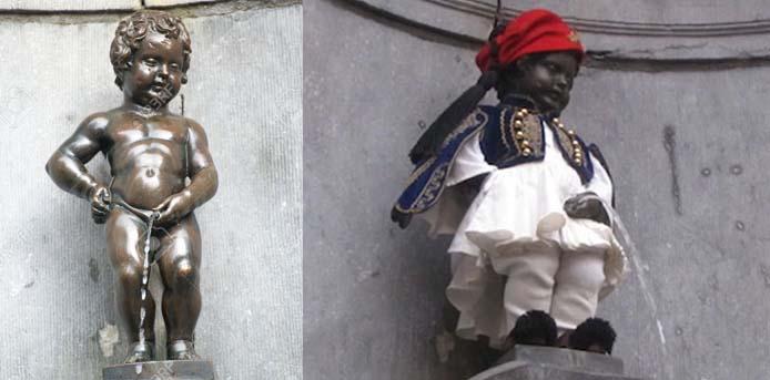 Το «αγοράκι που ουρεί», στην Grande Place των Βρυξελλών, θα ντυθεί εύζωνας στις 25 Μαρτίου