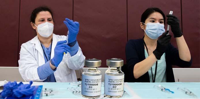 Προτείνεται αναστολή των εμβολιασμών στις ΗΠΑ, με το μονοδοσικό εμβόλιο της Johnson & Johnson λόγω περιστατικών θρόμβωσης
